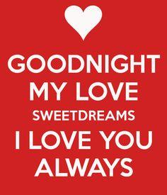good night my love - Google-haku