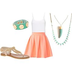 The Perfect Back-to-School Outfit | Her Campus. Creative in Coral