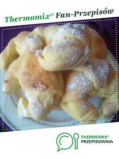 Rogaliki śniadaniowe z DYNIĄ jest to przepis stworzony przez użytkownika karolka.kostrzewa. Ten przepis na Thermomix<sup>®</sup> znajdziesz w kategorii Słodkie wypieki na www.przepisownia.pl, społeczności Thermomix<sup>®</sup>. French Toast, Cook, Breakfast, Recipes, Thermomix, Bakken, Recipies, Morning Coffee, Ripped Recipes