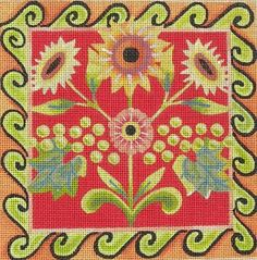 Jennifer Brinkley/Ruth Levinson needlepoint canvas design