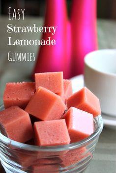 Easy Strawberry Lemonade Gummy - Paleo & GAPS from Health, Home & Happy (made with healthy gelatin!).jpg