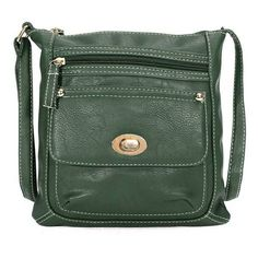 Women Vintage Leather Handbag ($12) ❤ liked on Polyvore featuring bags, handbags, man bag, vintage leather purses, vintage leather bags, zip bag and green purse