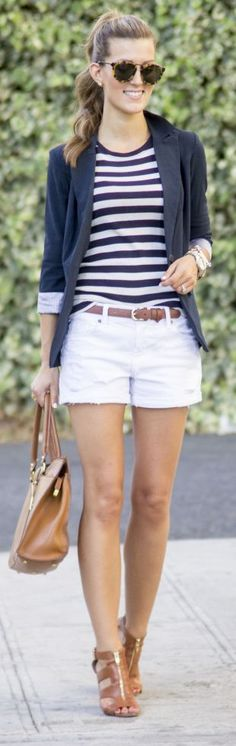 White Hot Outfit Idea by Chic Street Style