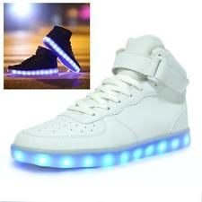 Lovers LED Night Light Couples Men Women Light Up Trainer Lace Up Shoes Sneakers