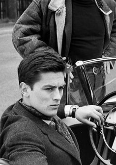 Alain Delon in Paris, 1959