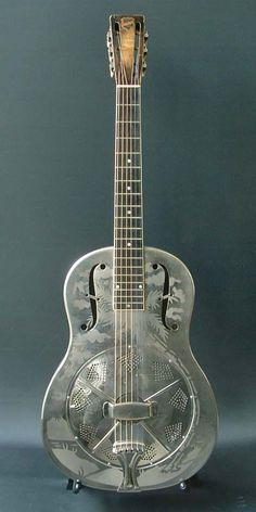 1933 National resonator guitar STYLE 0.