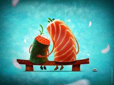 susi. Character © Алексей  /БайдаковBaydakov Aleksey插畫作品