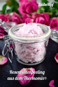 Rosenblütenpeeling aus dem Thermomix® – Foto: Nicole Stroschein