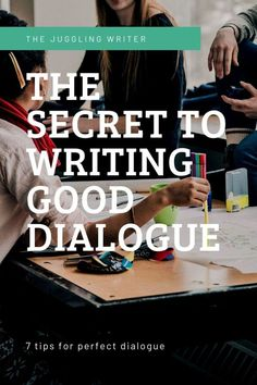 Great dialogue can dramatically improve your story as a whole. Here's everything you need to know about how to write dialogue. Dialogue Writing, Script Writing, Book Writing Tips, Cool Writing, Fiction Writing, Writing Resources, Creative Writing Tips, Writing Inspiration, Improve Yourself