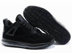 new products dea8e 2c5eb Air Jordan 4 Mix Max Men Shoes Black Jordan 4, Jordan Retro, Latest Jordan