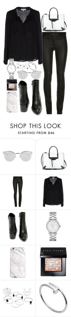 """Untitled #463"" by flawedparadise ❤ liked on Polyvore featuring Fendi, Balenciaga, Milly, Very Volatile, Marc by Marc Jacobs, Bobbi Brown Cosmetics, Cartier, women's clothing, women and female"