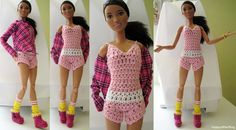 Barbie Made To Move outfit  Peace  #MTM #MadetoMove #Barbie #DIY