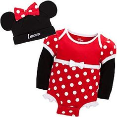 Of course I love Minnie Mouse stuff for our baby girl!