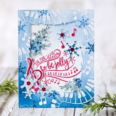 'Tis The Season Card by Betsy Veldman for Papertrey Ink (October 2017)