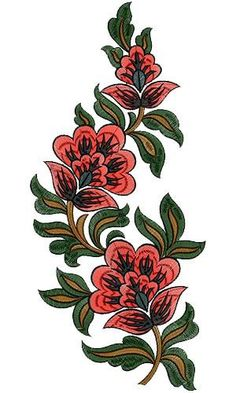 Discover thousands of images about Dress Corner Embroidery Design 12477 Floral Embroidery Dress, Free Machine Embroidery Designs, Embroidery Applique, Embroidery Ideas, Fabric Painting, Couture, Baroque, Suits, Tattoo