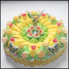 Gâteau de bonbons fée clochette