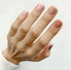 For spring the more nail polish colors you wear, the better. Here's how to wear different color nails, gradient nails, multicolored nails, and mismatched nails for spring Neutral Nail Polish, Nail Polish Colors, Nail Polishes, Gel Nail, Gelish Nails, Dior Nail Polish, Neutral Nail Color, Cute Nail Colors, Manicure Colors