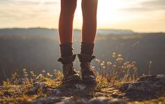 """Sunshine on top of the mountain • adventurous, sunny atmosphere • by Rona Keller """"the girl who made it on her own"""""""