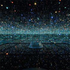 Take a Vertigo-Inducing Walk into the Infinite Inside Yayoi Kusama's Infinity Rooms at David Zwirner in New York