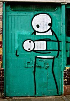 Stik London Street art
