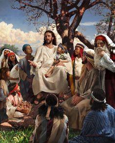 Jesus Christ: Sermon Mount by Lars Justinen