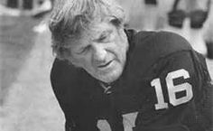 George Blanda, son of a coal miner from Youngwood, Westmoreland Co.  Oldest pro football player ever.