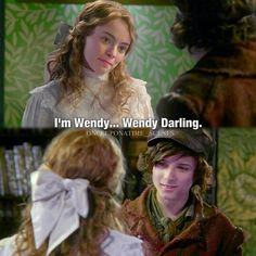 Wendy and Baelfire - Season 2. Am I the only one who shipped them?? Yes? Okay then