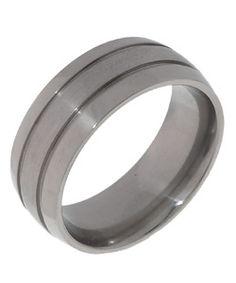 Men's Titanium Corrosion-Resistant Polished Band (8 mm)