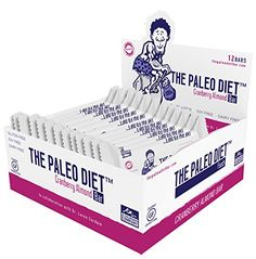 The Paleo Diet Bar Cranberry Almond -- 2.47 oz