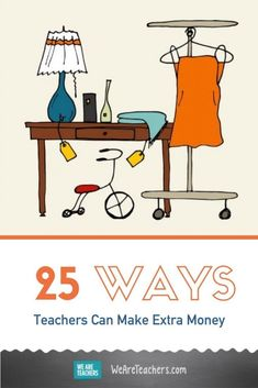 25 Ways Teachers Can Make Extra Money. From selling lesson plans to tutoring, writing, and beyond, here are 50 ways teachers can make extra money or have a second job. Career Information, Second Job, Summer Jobs, Classroom Language, Teaching Jobs, Future Classroom, Career Advice, Extra Money, How To Plan