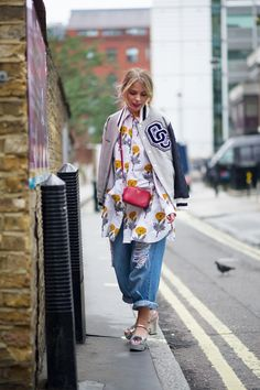 Eloise Moran - The Cut Street Style London Fashion Week Spring/Summer 2014