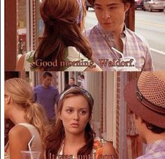 Not quite a favorite, but you gotta love Chuck & Blair.