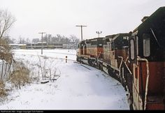 RailPictures.Net Photo: MILW 161 Chicago, Milwaukee, St. Paul & Pacific EMD SD40-2 at Madison, Wisconsin by Tom Farence