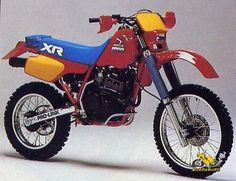 XR 600 R - Honda - 1985 this is why I want a one 85-13 same f'n bike ! I love it