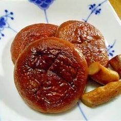 生シイタケの醤油焼き grilled fresh Shiitake mushrooms in soy sauce Japanese Food, Baked Potato, Grilling, Stuffed Mushrooms, Potatoes, Pudding, Fresh, Baking, Soy Sauce