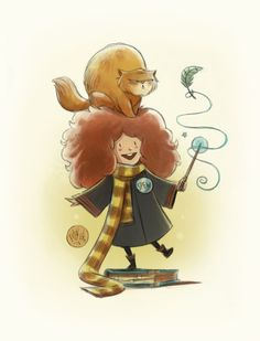 Hermione Granger by mikemaihack.deviantart.com on @DeviantArt