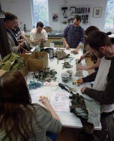 Combat Paper: Veterans Battle War's Demons With Paper-Making | PBS NewsHour