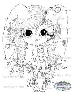 Girlie Coloring Pages 04 – Girlie Coloring Pages Spring Coloring Pages, Free Adult Coloring Pages, Coloring Pages For Girls, Coloring Book Pages, Printable Coloring Pages, Coloring For Kids, Doll Drawing, Creation Art, Princess Coloring