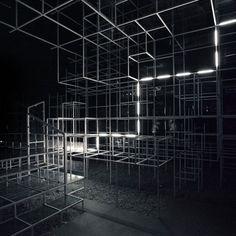 Serpentine Pavilion Intervention / Work / United Visual Artists: