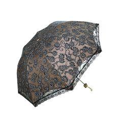 1 Lace Princess Folding Anti-UV Parasol Wedding Party Umbrella Sun Protection   eBay