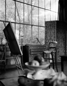 Atelier Cezanne (Cezanne's studio)  From the book: Travels with Van Gogh & the Impressionists  Neil Folberg Photograph. (Couleurs. tumblr archive. January 27, 2012)