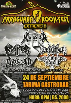 Paraguana Rock Fest Extremo 2 http://crestametalica.com/events/paraguana-rock-fest-extremo-2/ vía @crestametalica