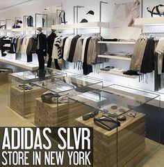 Adidas SLVR Store, New York fashion