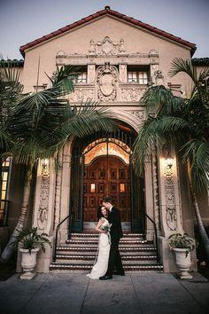 Wedding Venue | Ebell Club | #Weddings | Gina & Ryan Photography