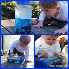 DIY Ocean Sensory Bottle