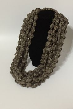 Scarf - hand crocheted by eJewelryJunction on Etsy