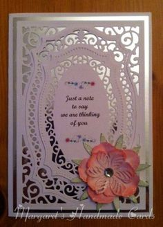 My first card in 2015. I made this card for a good friend who lost her husband just before Christmas. I just want her to know she is in my thoughts.