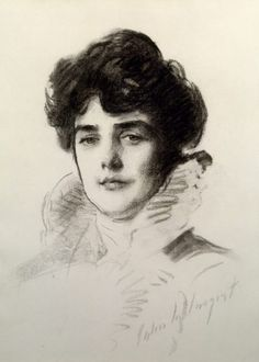 Portrait of Lady Randolph Spencer-Churchill by John Singer Sargent. ©National Trust Images/Derrick E. Witty
