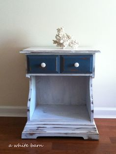 a white barn: A White Barn ~ Refurbished Furniture