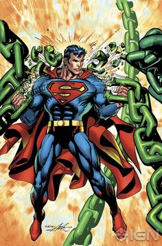 superman comic books photos | Superman's Classic Costume Unchained in New Variant Covers superman ...